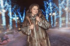 Kakotkin_com_260116_0004 (rkakotkin) Tags: winter snow cold girl night fur russia coat newyear mink tver beautifulgirls russiangirl minkcoat