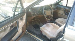 Interior do Volkswagen Santana GLS, monocromtico! (danielandradegte) Tags: volkswagen interior santana 1989 gls monocromtico