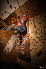 Bastien secret spot (Trialxav) Tags: is secret indoor spot climbing crime session bloc bastien grange escalade monge