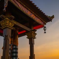Temple, Pemaron Village (Bulindo) Tags: travel sunset sky bali sun colors clouds indonesia temple backpacking sacred shanti indo lovina chillout islandlife baliisland yolo singaraja buleleng pemaron cemerony