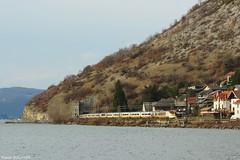Le dbut des pointes (pierre141f282) Tags: les train eurostar lac du savoie tgv aix sncf bains bourget culoz brisons