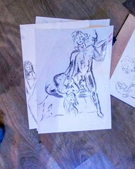 The Life Drawing Collective at Rise Gallery photos now online  January 28th 2015  More information on the next session in the next week!  View all previous photos of our sessions  Http://descART.es/life drawing/mywork