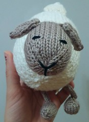 Little lamb (Toad Not Frog) Tags: knitting ravelry ittybittytoys