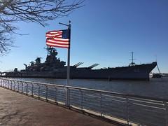 U.S.S. New Jersey (ryanbytes) Tags: flag battleship ussnewjersey