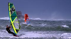 Wind surf Lampaul Ploudalmezeau (patrick_milan) Tags: sea mer windsurf wind storm planche voile cof047 cof047mari cof047dmnq cof047mark cof047cott cof047uki