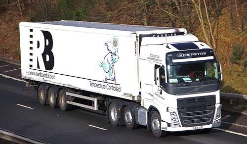 VOLVO FH 500 Globetrotter - REED BOARDALL Boroughbridge North Yorkshire