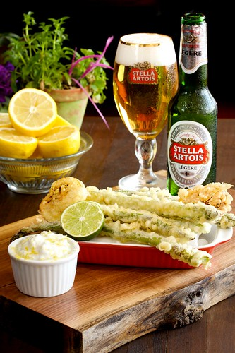 Stella Light recipe shoot for Edelman