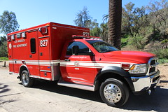 LAFD (So Cal Metro) Tags: rescue la losangeles lafd ambulance hollywood dodge ram paramedic ems emt losangelesfire