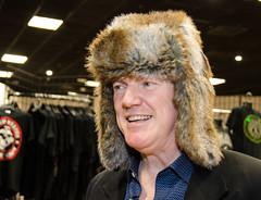 Gabriel in Furry Hat