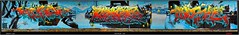 Artists: Core, Rekz and Disoe -  KDS Crew (pharoahsax) Tags: world street urban bw streetart get art colors wall writing germany painting deutschland graffiti artwork mural paint artist kunst tag tags spray peinture urbanart painter writer graff baden karlsruhe ka core legal spraycan württemberg süden rekz pmbvw disoe worldgetcolors