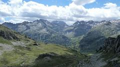 Widok w kierunku Val Arrettile