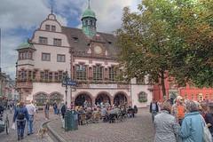 Friburgo, el ayuntamiento. (JuanmaMateos) Tags: alemania friburgo photomatix ecologica pseudohdr juanmamateos