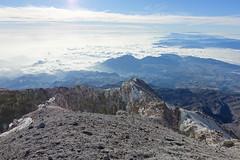 View towards the Caribbean coast (*Andrea B) Tags: mountain sunrise de mexico star volcano climb december glacier climbing alpine crater pico glaciar volcan orizaba 2015 starmountain picodeorizaba jamapa december2015 glaciardejamapa jamapaglacier