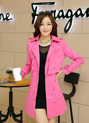 Convertible Trench (betrenchcoated) Tags: sexy dress trench trenchcoat raincoat beautifulgirl regenjacke regenmantel doublebreasted trenchdress trenchstyle