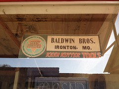 Always Be Closed (plasticfootball) Tags: hardwarestore missouri baldwinbrothers ironton keenkutter baldwinbros