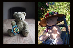 4 Bears (Room With A View) Tags: birthday art pairs dyptich carolineme