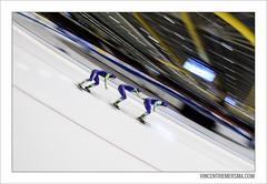 Team pursuit (Vincent Riemersma) Tags: world cup worldcup isu heerenveen schaatsen speedskating thialf longtrack langebaanschaatsen