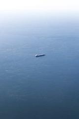 (themodulorman) Tags: boat ship aerial cargo solo transportation birdseyeview vastness