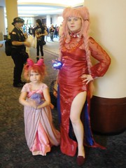Chibi Moons (Wrath of Con Pics) Tags: cosplay sailormoon animeweekendatlanta blacklady sailorchibimoon awa2012