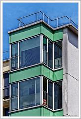 Lignes vertes (GilDays) Tags: house paris france building green window architecture nikon vert moderne iledefrance fentre immeuble habitation graphisme d810 nikond810 idf0615