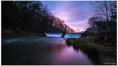 After the rain has gone (Sukmayadi) Tags: sunset evening waterfall tamron hoya 1024 3stop