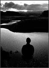 Ancient Lakes 1 (@GilAegerter / klahini.com) Tags: blackandwhite film desert hiking lakes backpacking nikkor ilfordxp2 ilford manualfocus nikkormat easternwashington manuallens ancientlakes 2850mmf35ais columbiariverbasin