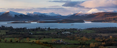Lomond (Douglas Collinson) Tags: sunset mountain snow islands scotland nationalpark naturereserve benlomond lochlomond aber luss duncryne conic gartocharn torrinch inchmurrin placestovisit creinch inchcsilloch