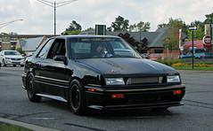 1987 Shelby CSX (SPV Automotive) Tags: black sports car 1987 exotic shelby dodge coupe csx