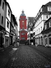 Gotha, Blick zum Rathaus090 (AndyFotomaker) Tags: old city house castle deutschland thüringen dorf alt gotha stadt architektur schloss rathaus gebäude burg häuser histroy historisch bauten thuringa schlos