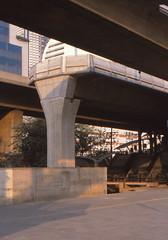 Thailand - Bangkok - The Saphan Taksin saga (railasia) Tags: thailand 2000 bangkok infra bts endoftheline saphantaksin silomline elevatedstructure metrosubwayunderground routenº2
