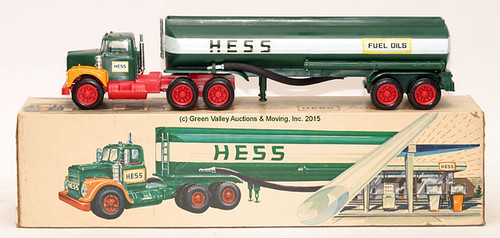 Early Hess Truck w/ Original Box - $88.00 (Sold August 28, 2015)