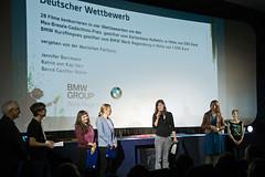 Sophie Linnenbaum empfängt für [OUT OF FRA]ME den BMW Kurzfilmpreis (Deutscher Wettbewerb)