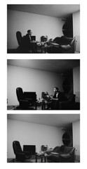 Useless Words. (Pietro Bakke) Tags: pictures b people blackandwhite bw white 3 black holland film netherlands amsterdam composition zeiss photoshop photography 50mm gente photos kodak films w trix picture n streetphotography quadro x bn f 400 17 fotografia fx tri nederlands bianco yashica nero ido olanda biancoenero fotografo planar 400iso composizione carlzeiss paesi pellicola bassi f17 fx3 50mmf17 rullino pellicole rullini