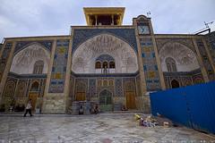 Qum mosque under repair (T   J ) Tags: iran fujifilm qom qum xt1 teeje fujinon1024mmf4