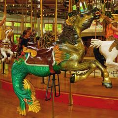 Carousel Seahorse (redhorse5.0) Tags: fun seahorse carousel amusementpark merrygoround carouselanimals sonya850 redhorse50 colorfulseahorse