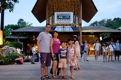 First visit to the night safari for the kids (Stinkee Beek) Tags: erin ethan leonard nightsafari yewyen