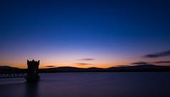 Vartry Sunset (Minibert93) Tags: longexposure ireland sunset tower wideangle reservoir wicklow roundwood 10stop