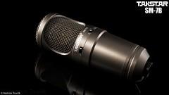 TAKSTAR SM-7B Microphone (HT Productions) Tags: lighting light black photography nikon key low commercial microphone products nikkor takstar godox d3100 tt560