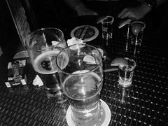 Always stuck between beer, tequila and bad boys ~ (carolina.changc) Tags: blackandwhite beer heineken memories tequila artsyshot baddecisionsgooddecisions