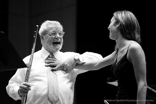Master-Classe avec Sir James Galway