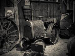 Vintage Farm Technology (spline_splinson) Tags: tractor de deutschland rust traktor transportation antiquetractor oldtechnology oldtractor badenwrttemberg vintagefarmequipment uhldingenmhlhofen