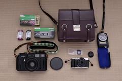 Fujifilm analog & digital (Udo Afalter) Tags: fujifilm gossen acros100 sacar gossenlunasix3 objektivdeckel fujifilm400h ebcfujinon fujifilmgw690iii fujifilmxm1
