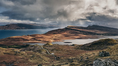 The Sound of Raasay (Andrew G Robertson) Tags: old cloud lake man skye water canon isleofskye 5d loch hebrides mkii oldmanofstorr mk3 storr raasay canon2470mm canon5dmkiii canon2470mm28ii