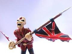 Eddie Iron Maiden em biscuit (Patricia Candy) Tags: boneco biscuit eddie ironmaiden porcelanafria