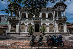 Mansion (Jeff Perigois) Tags: old urban house building heritage beautiful architecture french asia colonial palace vietnam mansion hochiminh oldarchitecture saison