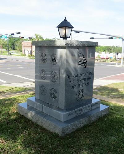 Veterans Monument Marianna FL