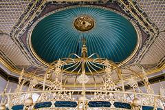 Gallery (Jeremy Brooks) Tags: architecture turkey istanbul ceiling dome hagiasofia