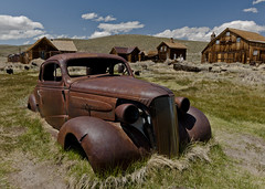 Bodie - '37 Chevy (NikonD3xuser1(Thanks for 1.4 million visits)) Tags: california ranch park light usa chevy bodie 37 hdr