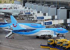 G-FDZA Boeing 737-800 of Thomson Airways (SteveDHall) Tags: airplane manchester airport aircraft aviation aeroplane thomson boeing airliner airliners 737 airfield manchesterairport aerodrome b737 ringway 737800 2016 boeing737800 boeing737 b737800 738 b738 gfdza thomsonairways