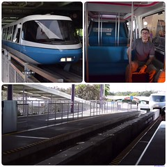 Eric and WDW Monorail (aimeeluvselvis) Tags: epcot disney monorail wdw
